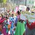 Desfilan para protestar contra alcaldía de Chimalhuacán