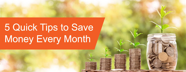 5 cara nak jimat duit setiap bulan