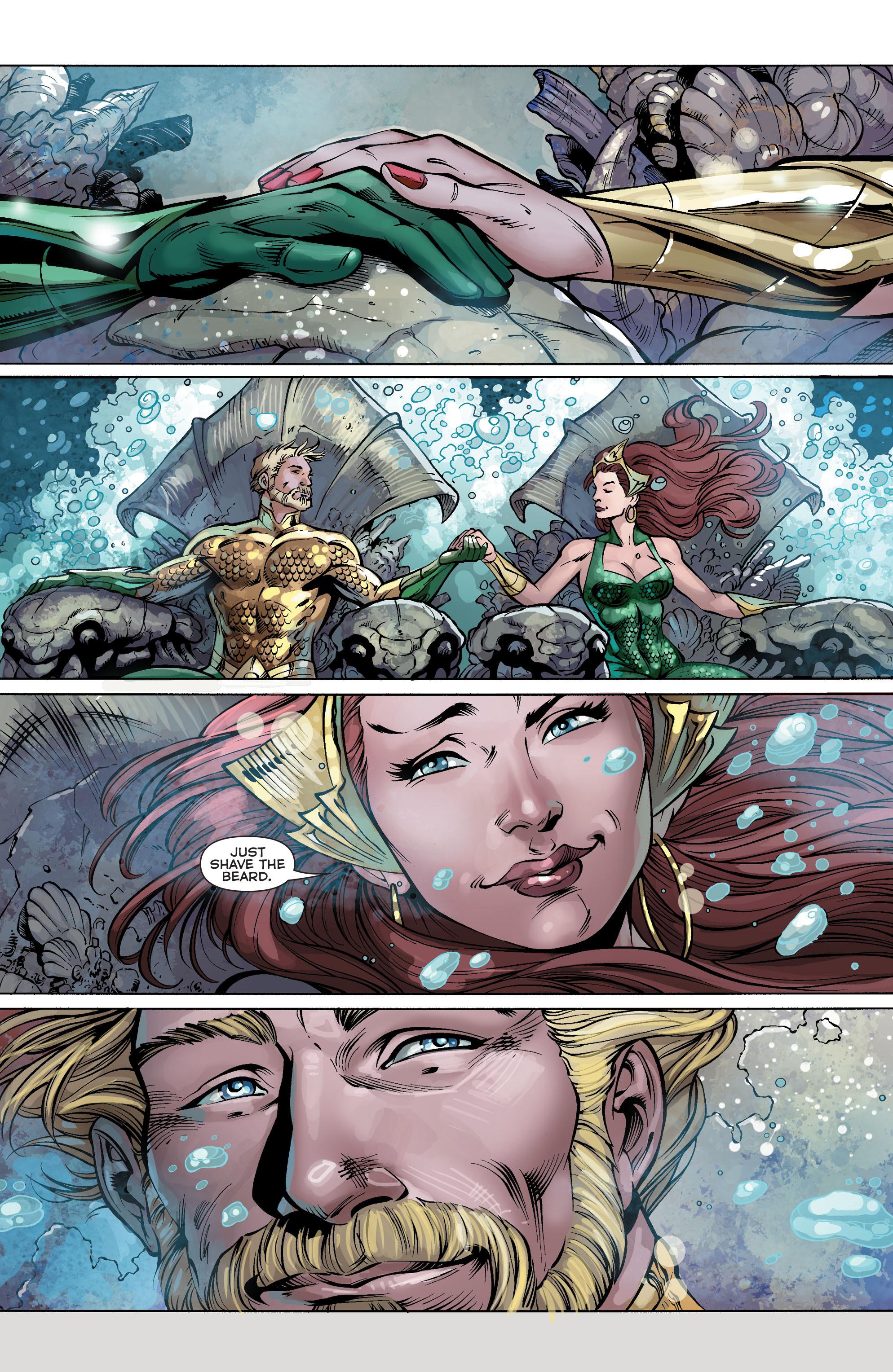 Read online Aquaman (2011) comic -  Issue #25 - 25