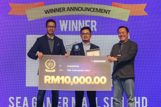 Top ECM Winner - SEA Gamer Mall Sdn Bhd