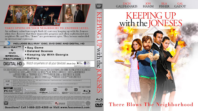 Keeping Up with the Joneses Bluray Cover