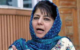 Mehbooba the First Women Chief-Minister of Jammu and Kashmir