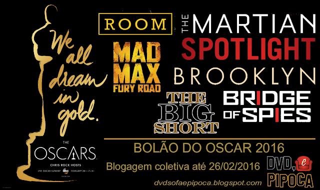 Bolão do Oscar 2016