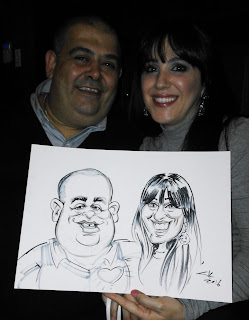 caricature artist, Johannesburg, South Africa, live caricatures