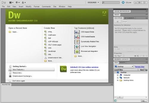 PENGENALAN KEPADA ADOBE DREAMWEAVER CS5: Pengenalan Kepada Adobe ...
