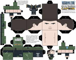 Cubeecraft Resident Evil - Claire Renfield