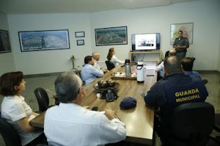 Projeto das bases municipais de segurança é apresentado pela Guarda Municipal de Lucas do Rio Verde (MT) e PM