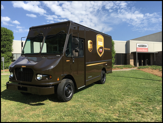 UPS and FCCC celebrate the 50,000th chassis delivered to UPS