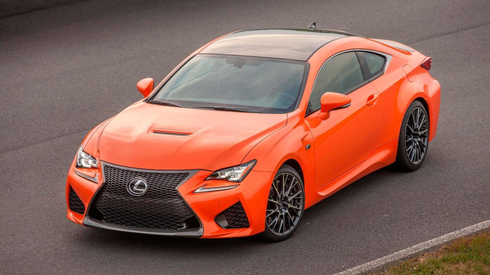 Lexus RC F: £ 59.995