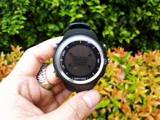 Jam Tangan Outdoor North Edge X-Trek New GPS Speed Running Hiking Waterproof