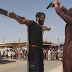 ISIS terrorists crucify spies, cut off man's finger for stealing and throw another off the roof for being gay. (Graphic Photos)