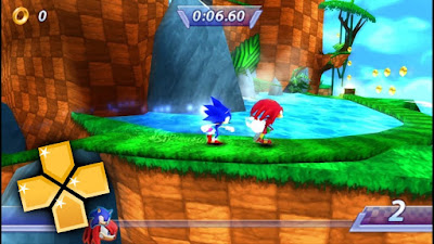 Sonic Rivals PSP ISO for Android