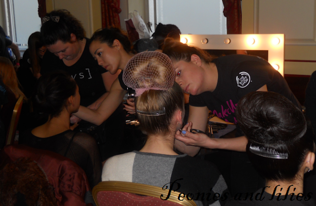 The body shop, Fashion scout, London fashion week, Backstage