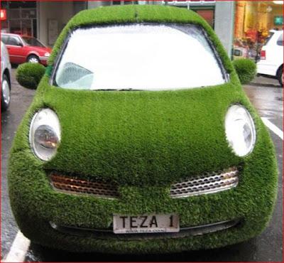 Mobil Rumput - Mobil Aneh