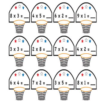 1 Sinif Matematik Carpma Islemi Boyama Kagidi Ders Ve Calisma