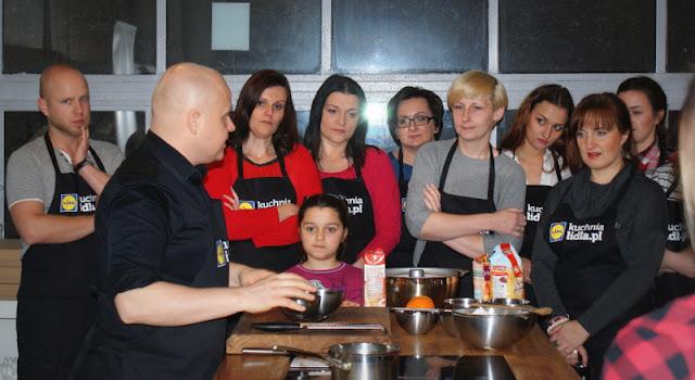 Lidl Polska,warsztaty kulinarne,LIDL,Paweł Małecki,Mistrz Cukiernictwa