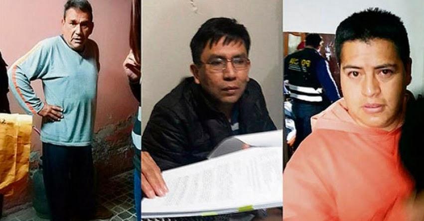 Solicitan prisión preventiva para banda criminal «Los Magos de la UGEL»