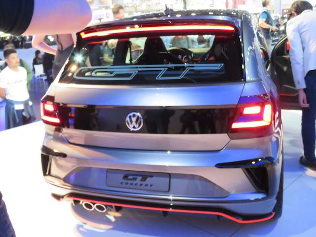 Volkswagen Gol GT Concept 2017 - traseira