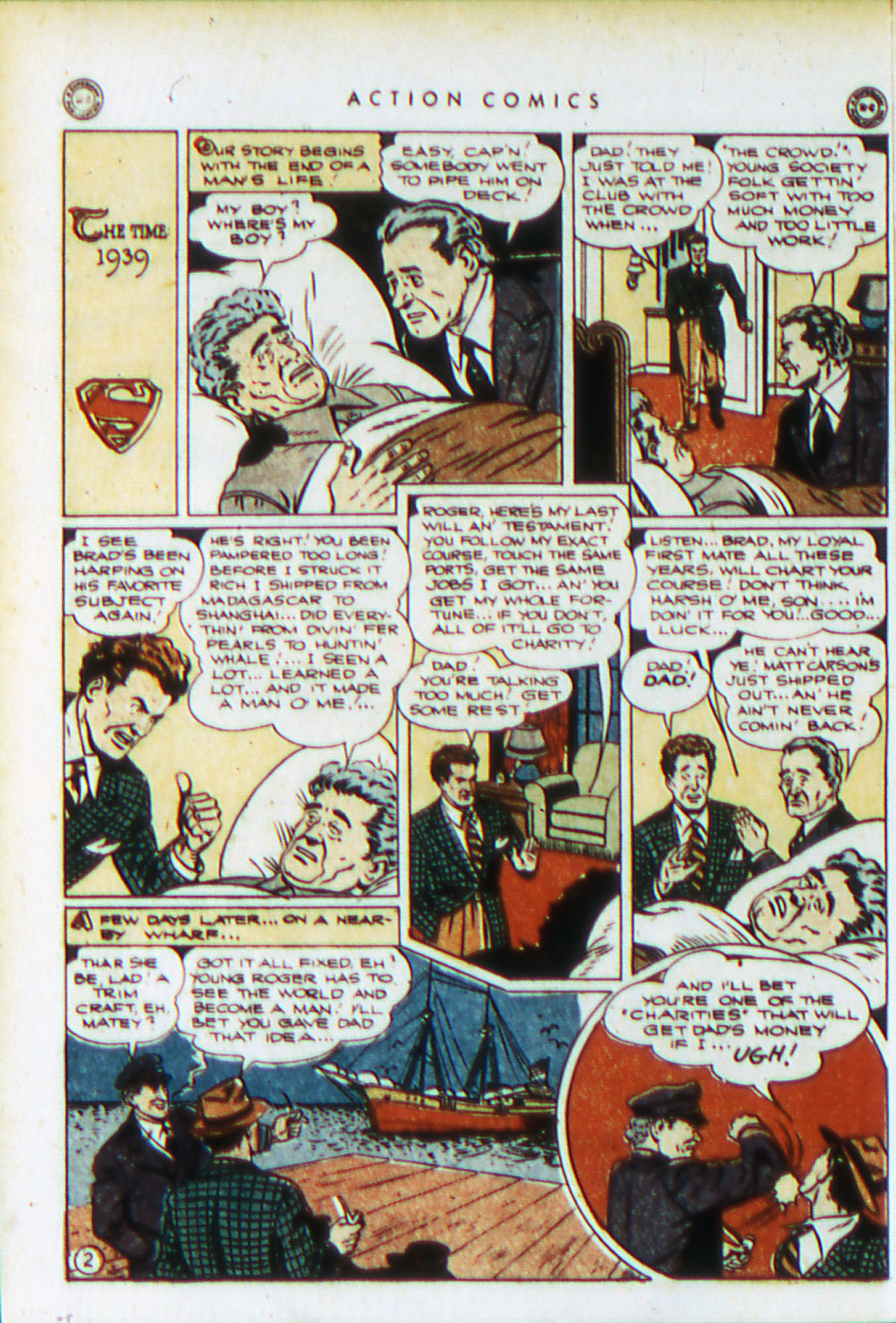 Read online Action Comics (1938) comic -  Issue #76 - 5
