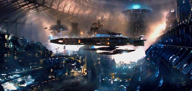 Peisaje futuriste fabuloase în primul trailer pentru filmul sci-fi Jupiter Ascending