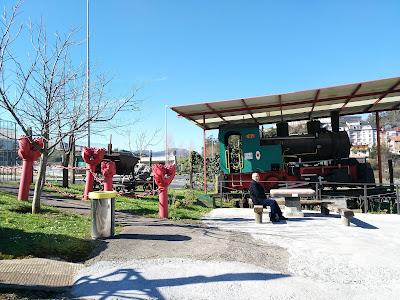 Entrada al Museo de la Minería del País Vasco