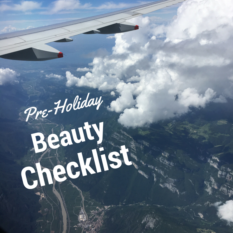 Pre-Holiday Beauty Checklist