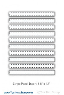 Stripe Panel Insert Die