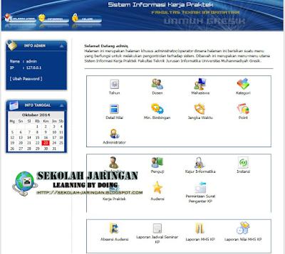 Download Free Source Code PHP Sistem Informasi Kerja Praktek