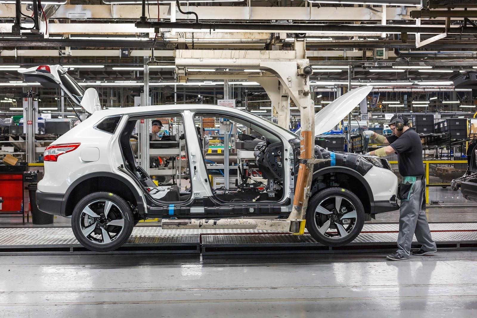 H Nissan αυξάνει τον όγκο παραγωγής του QASHQAI!