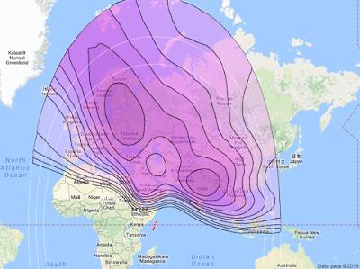 Satelit Yamal 202 49.0°E CBand