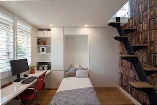 Dormitorio joven estudiante