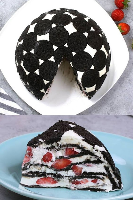 Easy Upside Down Oreo Cake