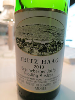 Fritz Haag Brauneberger Juffer Riesling Auslese 2013 - Mosel, Germany (92 pts)