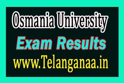 Osmania University (OU)PGDTCP Exam Results Download