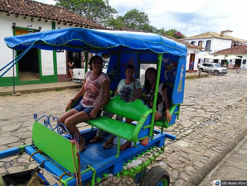 Passeio de charrete em Tiradentes, Minas Gerais