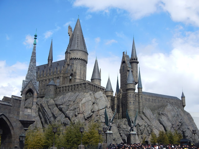 El castillo de Hogwarts, en Universal Studios Japan de Osaka