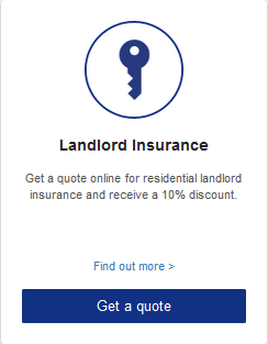 Landlord Insurance  Get a quote online for residential landlord insurance and receive a 10% discount.