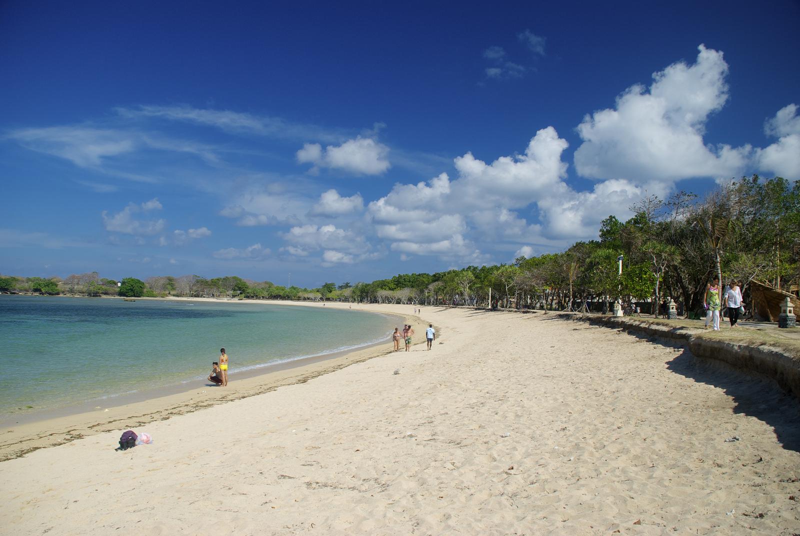 владимир путин пляж нуса дуа бали фото туристов дерева популярный