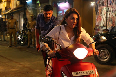 Jayam Ravi,Hansika Motwani and Arvind Sami New Movie Bogan
