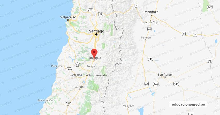 Fuerte Sismo en CHILE de Magnitud 5.1 y Alerta de Tsunami (Hoy Miércoles 5 Septiembre 2018) Terremoto Temblor Epicentro - Rancagua - Santiago - San José de Maipo - Valparaíso- ONEMI - www.onemi.cl