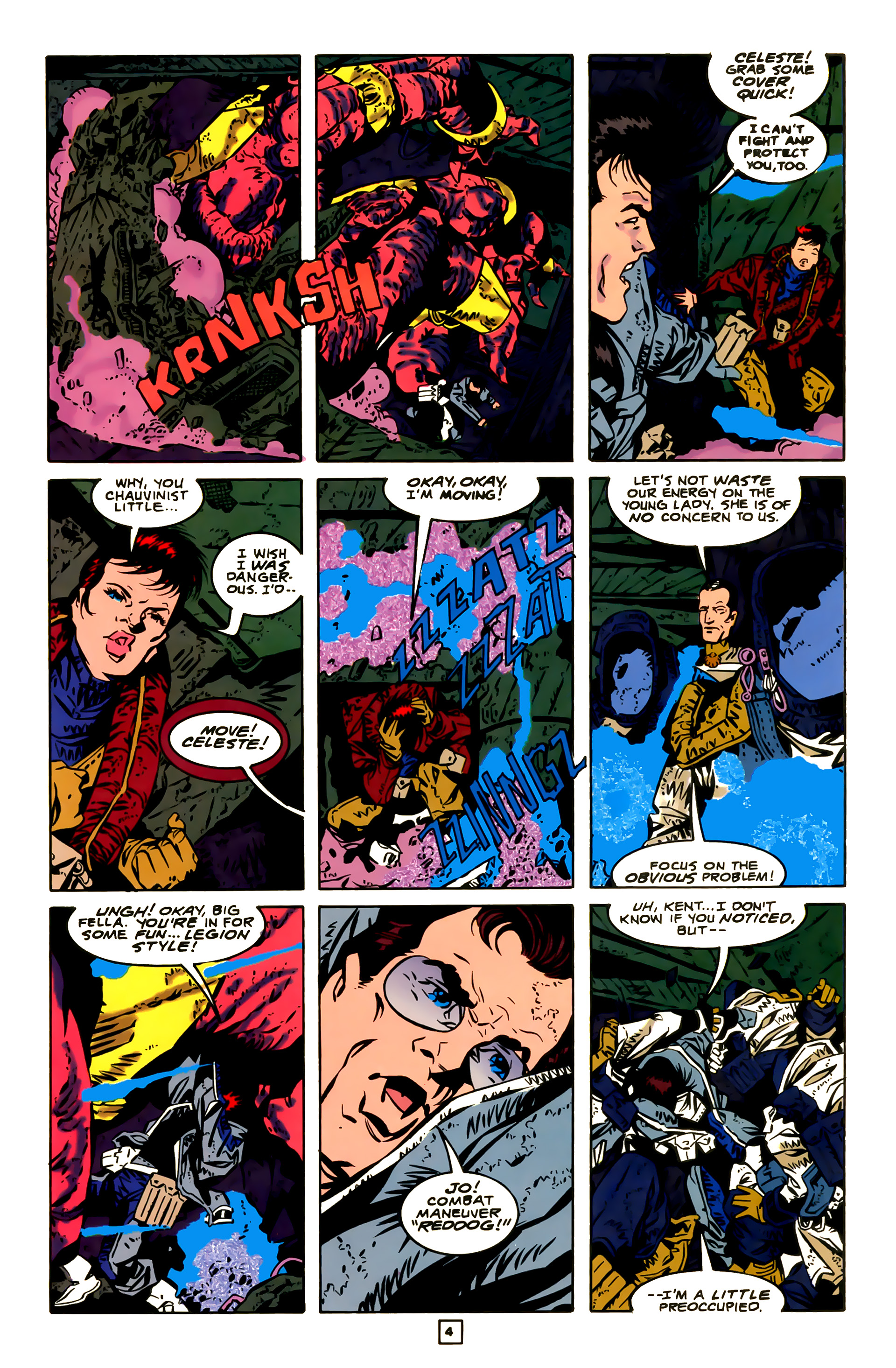 Legion of Super-Heroes (1989) 23 Page 4