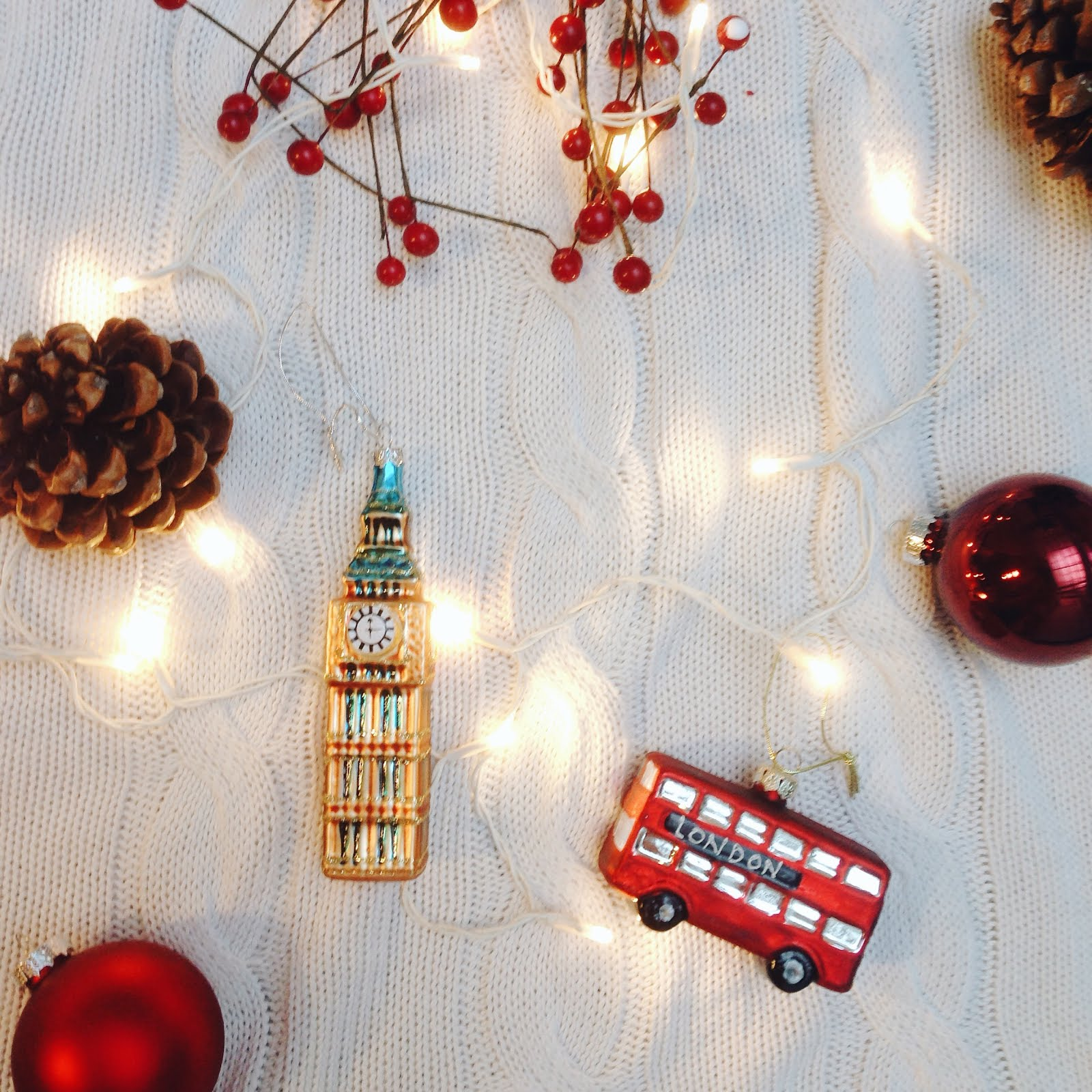 christmas tag, q&a, london bauble, big ben ornament
