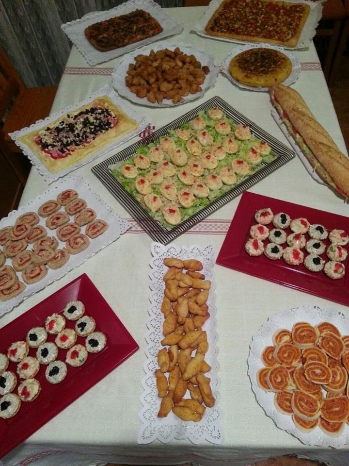 la experiencia de preparar un catering. recetas para catering y cumpleaños