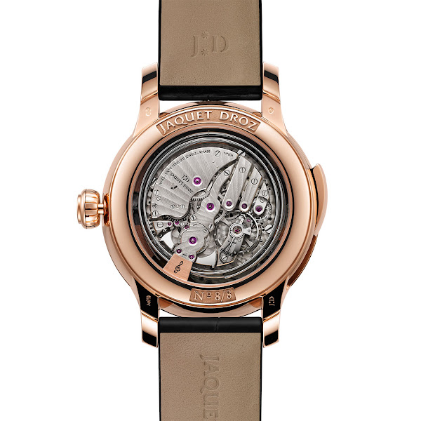 Jaquet Droz - The Bird Repeater Watch Back