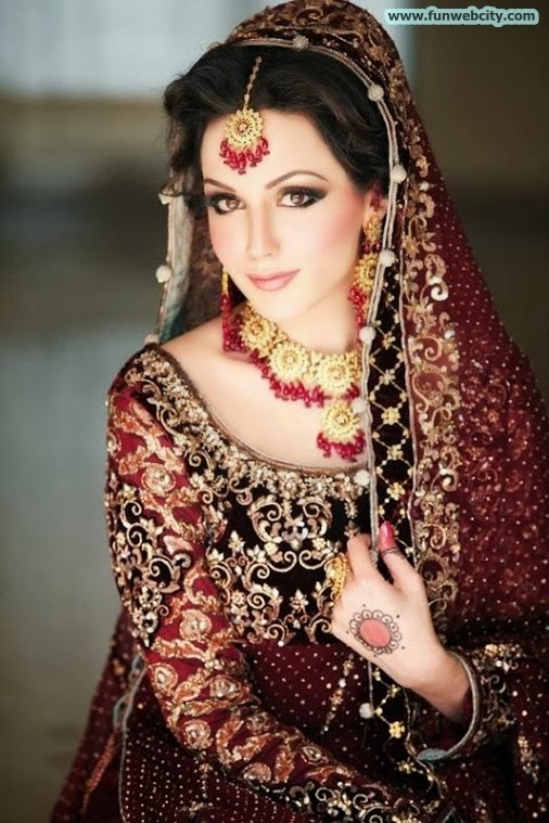 Latest Bridal Makeup & Photoshoot
