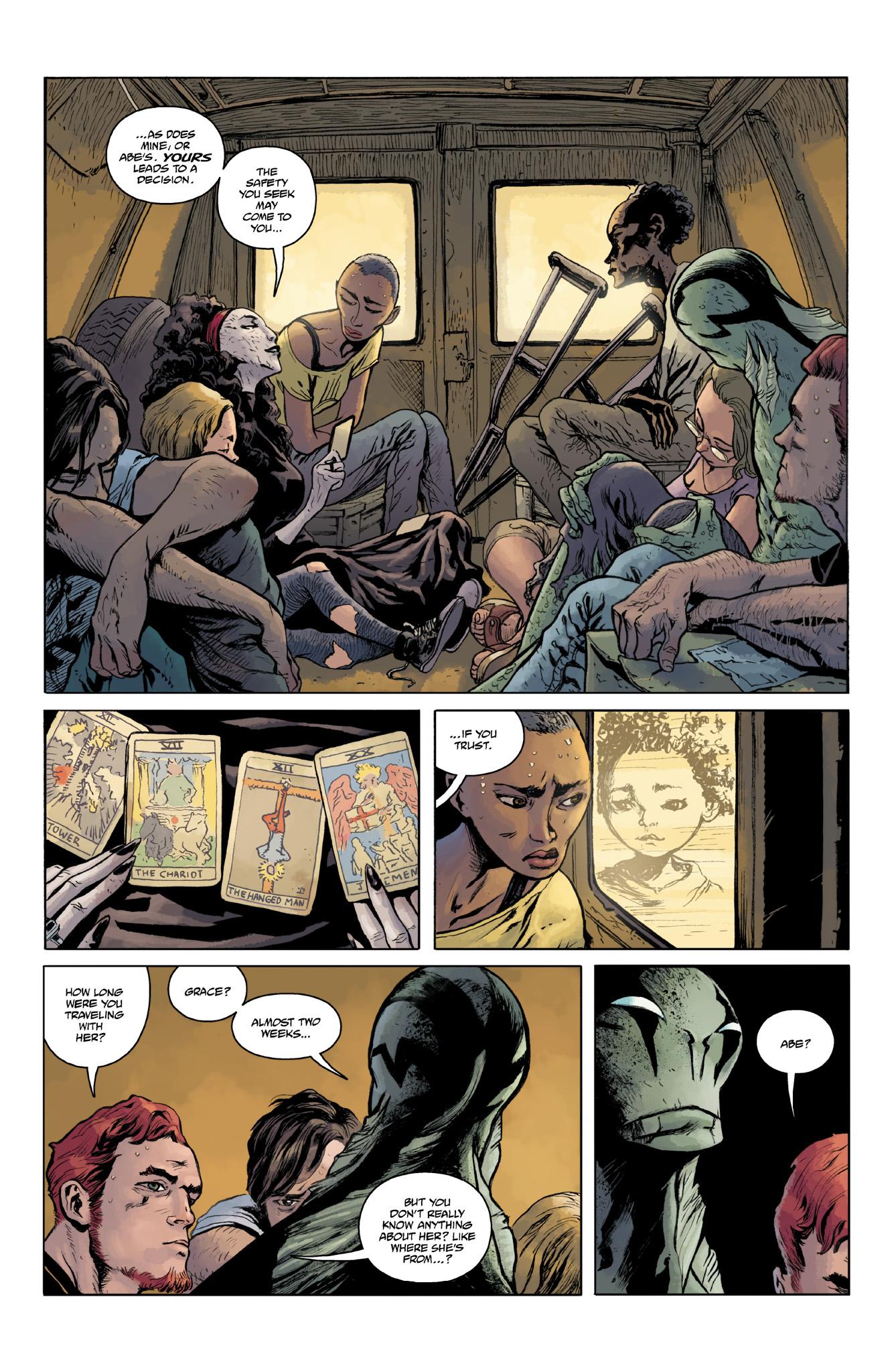 Read online Abe Sapien comic -  Issue #18 - 4