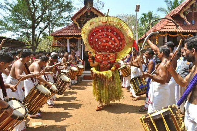 Theyyam Dance