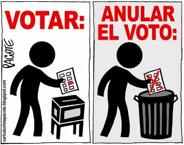 El Blog De Izquierda Anular El Voto Nulo Es Votar 1 Sladogna