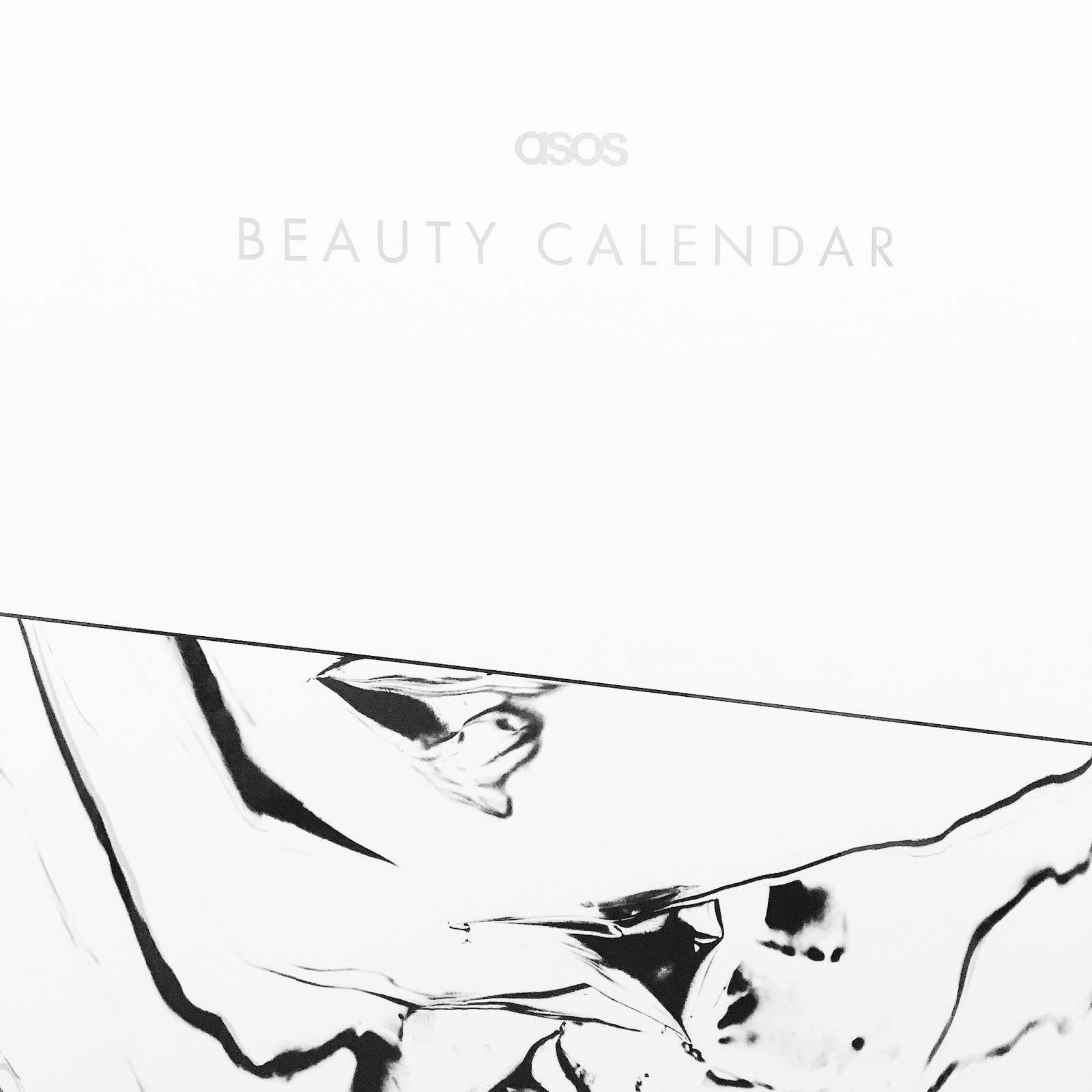 ASOS beauty advent calendar 2016