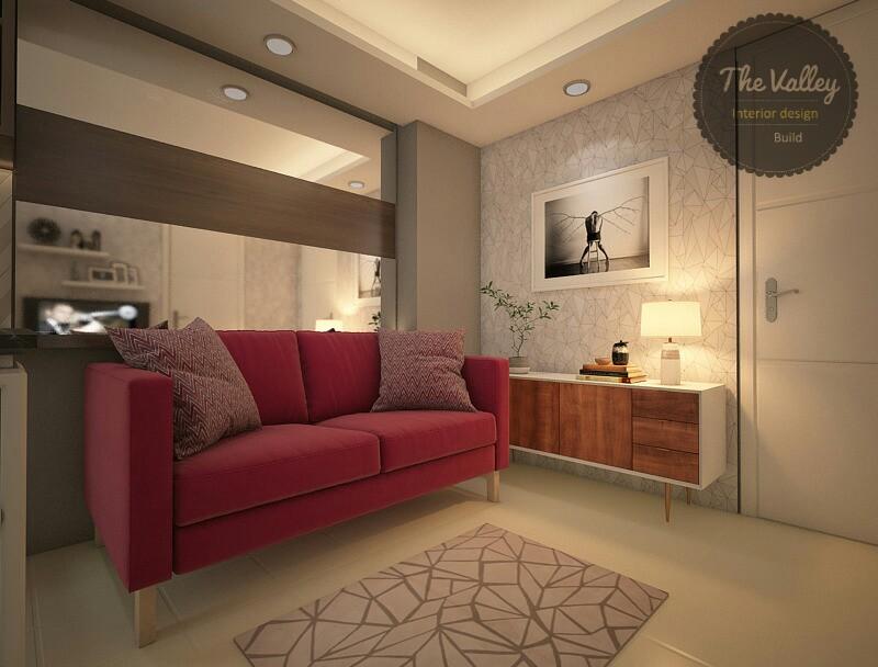 Desain Interior Apartemen Mewah 02